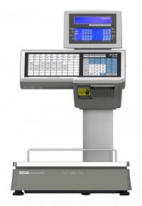 Весы торговые с принтером этикеток CAS CL5000D-15D TCP-IP